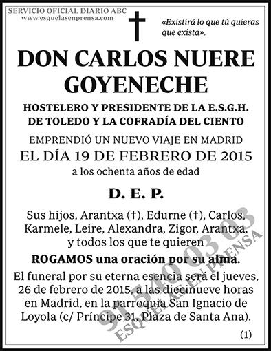 Carlos Nuere Goyeneche